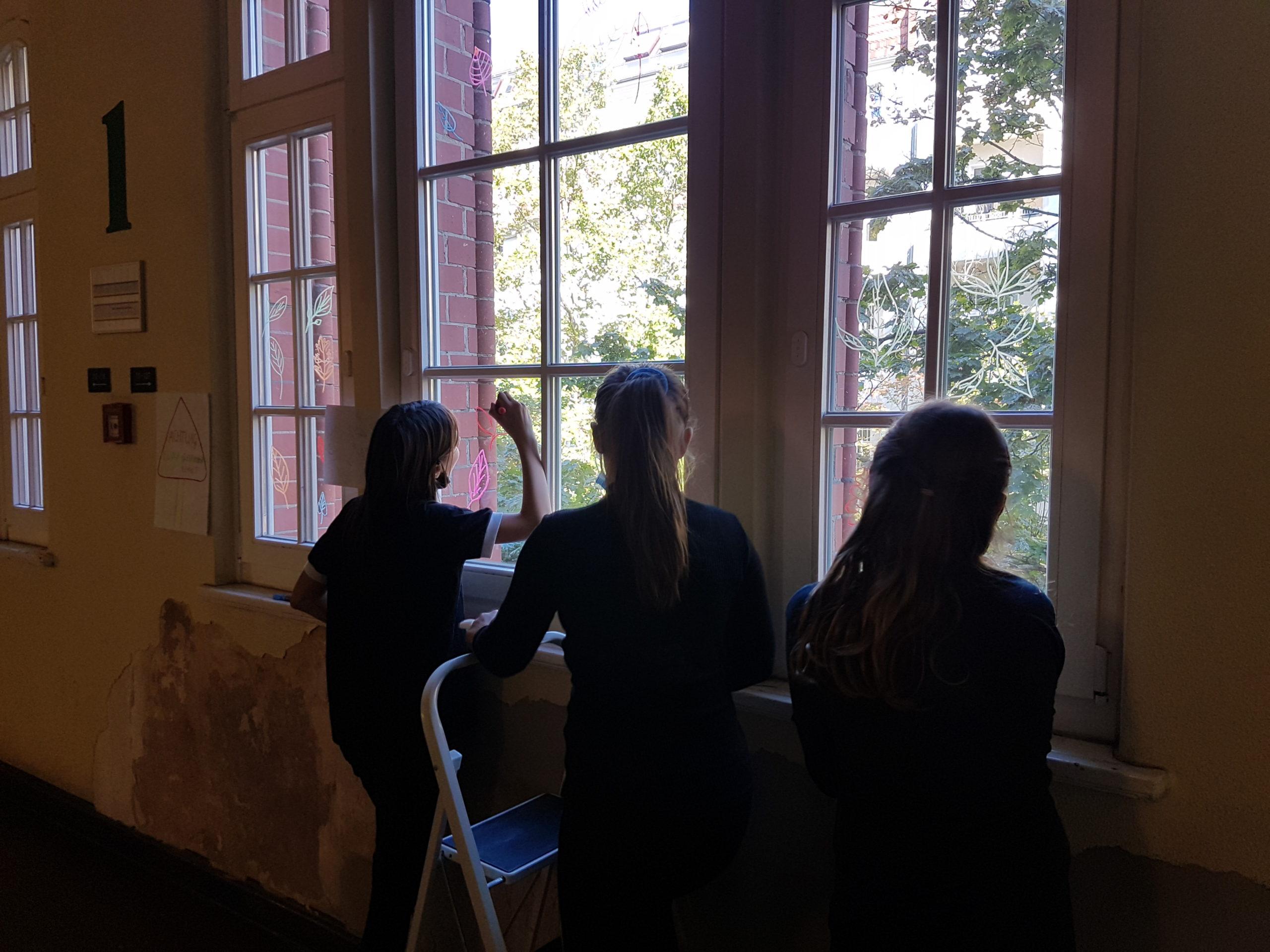 Fenstermalerei Herbst '20