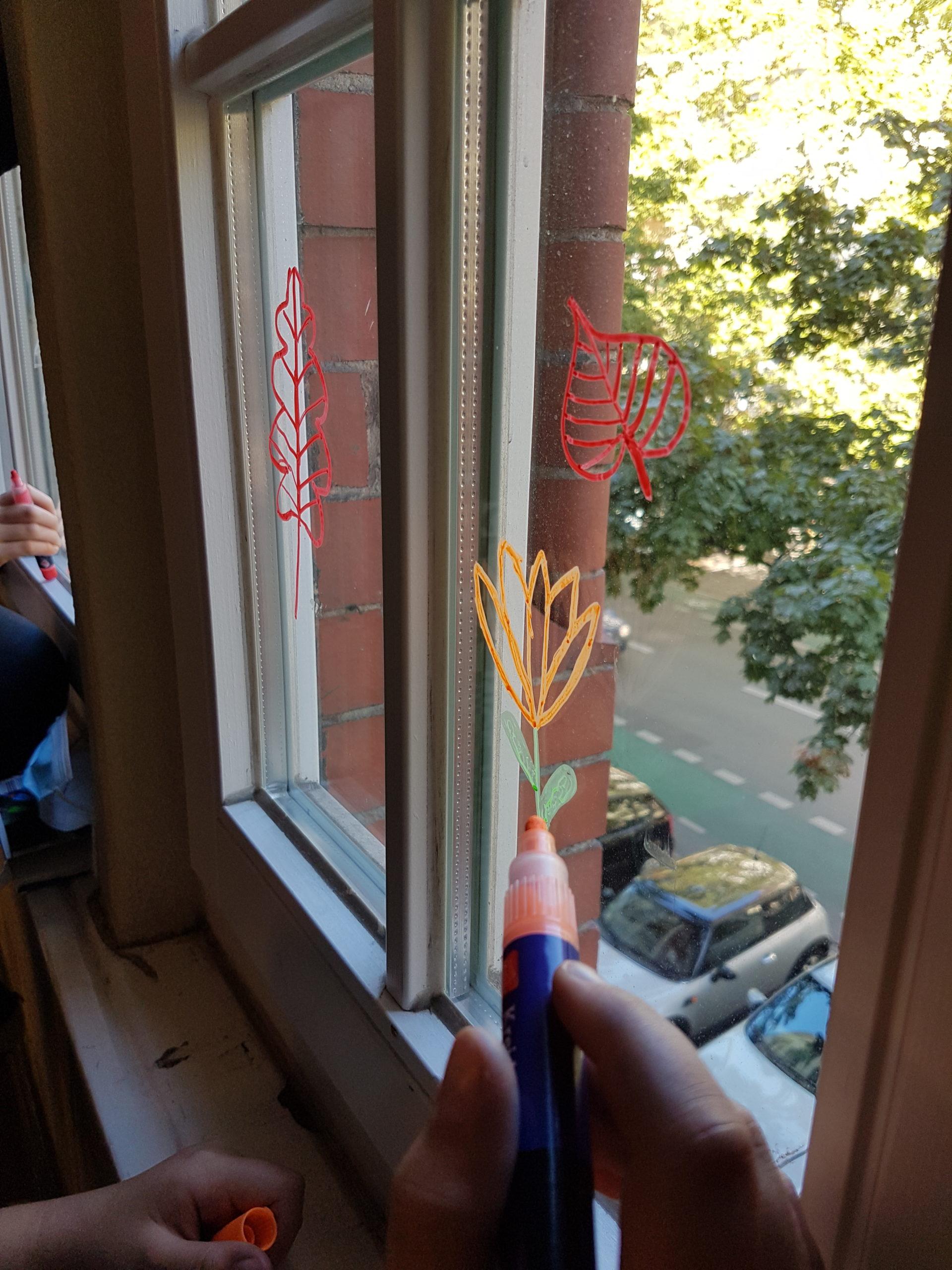 Kunst Fenstermalerei 4