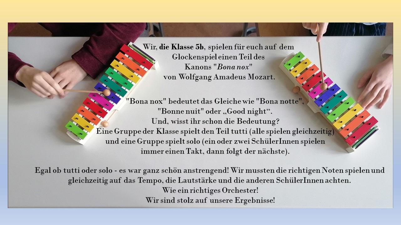Deckblatt Glockenspiel Website